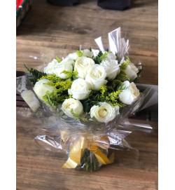 Buquê de Rosas Branca