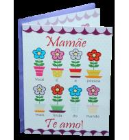 Cartão - Te Amo Mamãe