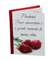 Cartão - Parabéns