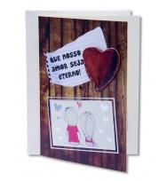 Cartão Amor Eterno