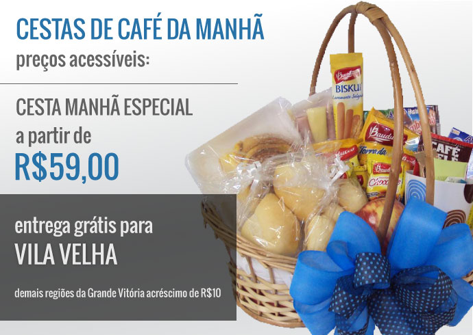 Breakfast pack from 59 reais